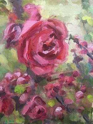 Painting - Quince by Susan Elizabeth Jones