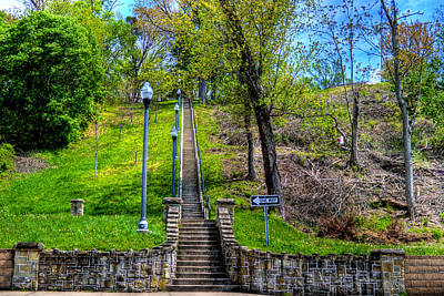 Photograph - Quincy Hill Steps by Jonny D