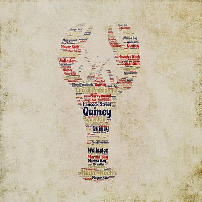 Boston Ma Digital Art - Quincy Lobster by Brandi Fitzgerald