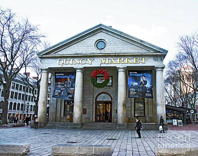 Photograph - Quincy Market Building by Ruth H Curtis