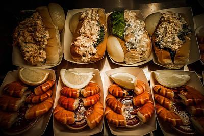 Massachussetts Photograph - Shrimp Sandwich by Michelle Saraswati