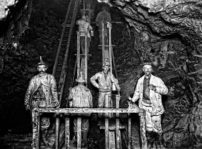Labor Union Photograph - Quincy Mine Man Engine  C. 1890 by Daniel Hagerman