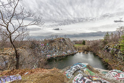 Photograph - Quincy Quarries 16 by Brian MacLean