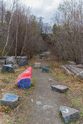 Photograph - Quincy Quarries 23 by Brian MacLean