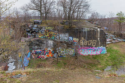 Photograph - Quincy Quarries 4 by Brian MacLean