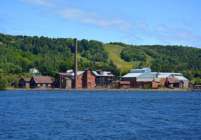 Photograph - Quincy Smelting Works by Keith Stokes