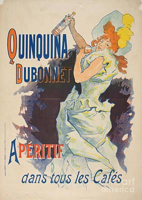 Painting - Quinquina Dubonnet by Celestial Images