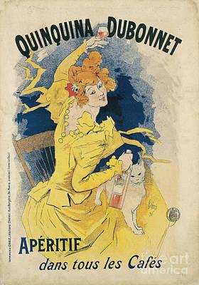 Painting - Quinquina Dubonnet Vintage Posters by Celestial Images