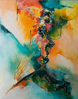 Emotion Mixed Media - Quintessence by Francoise Dugourd-Caput
