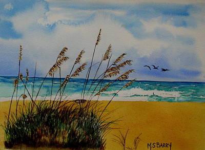 Quintessential Florida Art Print by Maria Barry
