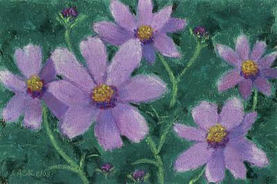Pastel - Quintet Cosmos by Anne Katzeff