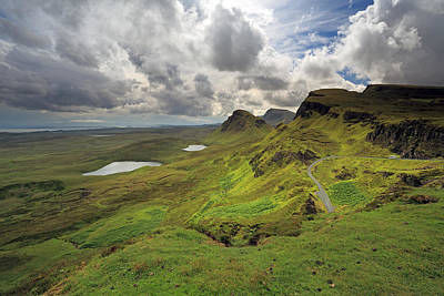 Mountins Photograph - Quiraing And Trotternish by Maria Gaellman
