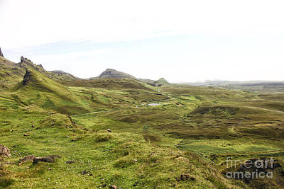 Photograph - Quiraing Area On Isle Of Skye by Patricia Hofmeester