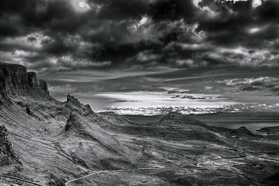 Quiraing On Isle Of Skye Scotland Art Print