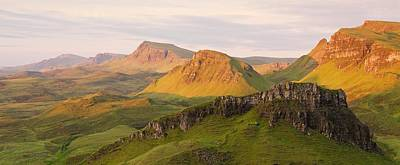 Photograph - Quiraing Panorama by Stephen Taylor