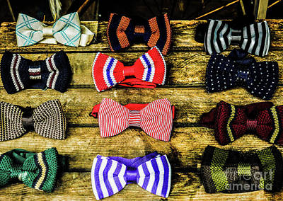 Photograph - Quirky Bow Ties by Lexa Harpell