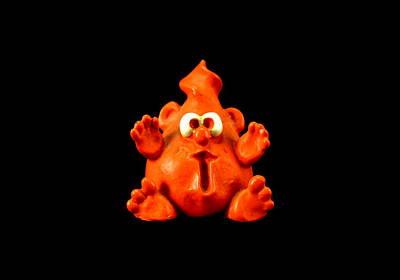 Claymation Pyrography - Quirky by Tiffany Serijna