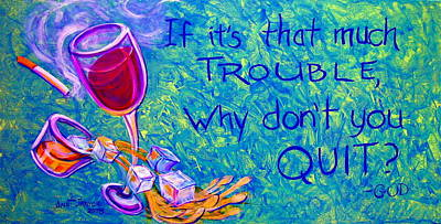 Painting - Quit by Jeanette Jarmon