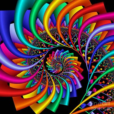 Digiart Digital Art - Quite Different Colors -19- by Issabild -