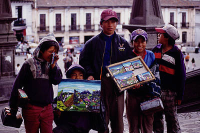 Photograph - Quito Art Dealers by John Farley