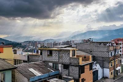 Photograph - Quito, Ecuador Cityscape by Alexandre Rotenberg