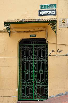 Photograph - Quito Old Town Door by Steven Richman