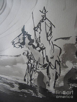 Painting - Quixote  by Raul Morales