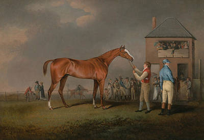 Painting - Quiz, After His Last Race At Newmarket by Treasury Classics Art