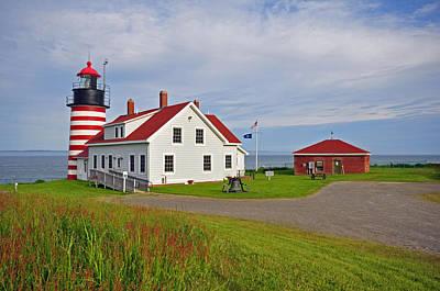Photograph - Quoddy Head Lighthouse by Glenn Gordon