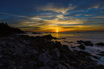 Quoddy Head State Park Sunrise Panorama Art Print by Marty Saccone