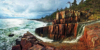 Photograph - Quoddy Head Storm by ABeautifulSky Photography by Bill Caldwell