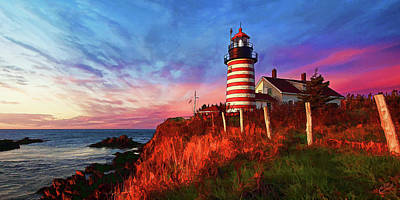 Photograph - Quoddy Head Sunrise by ABeautifulSky Photography by Bill Caldwell