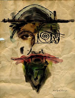 Quoijote 002 Art Print by Rafael Gaya