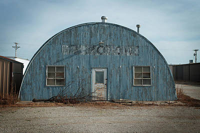 Photograph - Quonset Hut by Bud Simpson