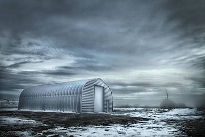 Photograph - Quonset Hut by Theresa Tahara