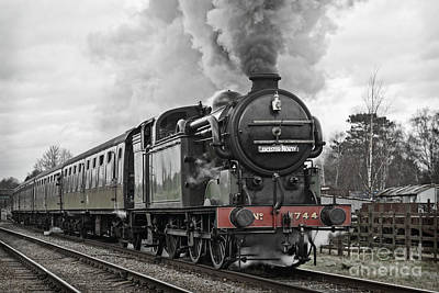 Photograph - Quorn Departure by David Birchall