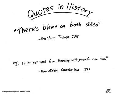 Drawing - Quotes In History by David S Reynolds