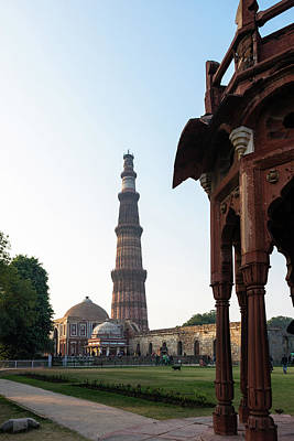 Photograph - Qutb Minar 3 by Steven Richman