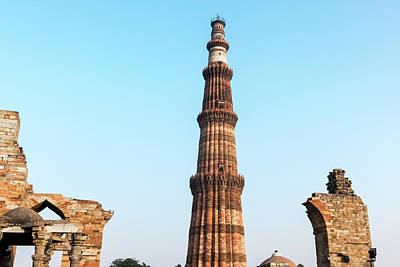 Photograph - Qutb Minar by Steven Richman