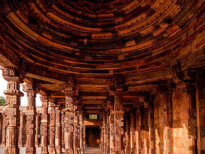 Photograph - Qutub Minar by M G Whittingham