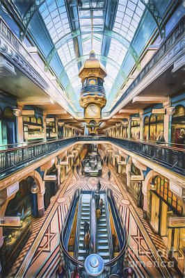 Photograph - Qvb    Go3 by Ray Warren