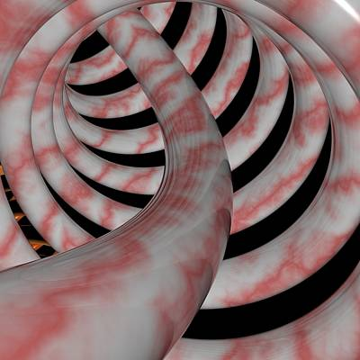 Digital Art - R 006 B by Rolf Bertram