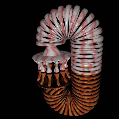Digital Art - R 011 A by Rolf Bertram