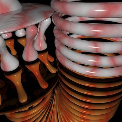Digital Art - R 011 D by Rolf Bertram