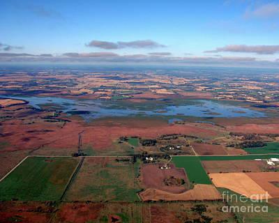Photograph - R-014 Rush Lake Winnebago County Wisconsin by Bill Lang