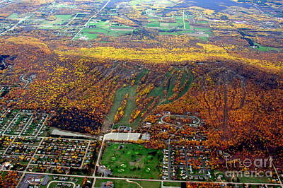 Photograph - R-019 Rib Mountain Wisconsin Fall by Bill Lang