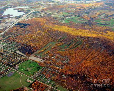 Photograph - R-020 Rib Mountain Wisconsin Fall 2 by Bill Lang