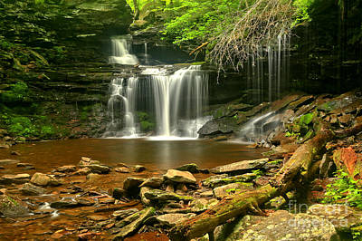 Photograph - R B Ricketts Falls by Adam Jewell