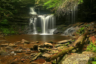 Photograph - R B Ricketts Waterfall by Adam Jewell