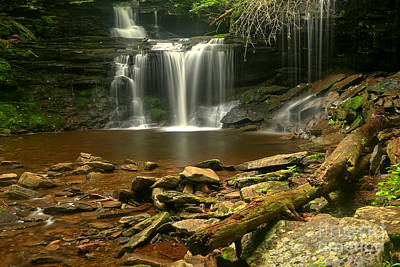 Photograph - R B Ricketts Waterfall Canyon by Adam Jewell